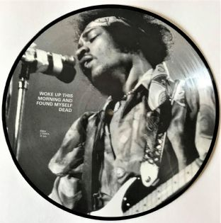 Jimi Hendrix ‎- Woke Up This Morning And Found Myself Dead (LP) (Picture Disc) (VG/NM)
